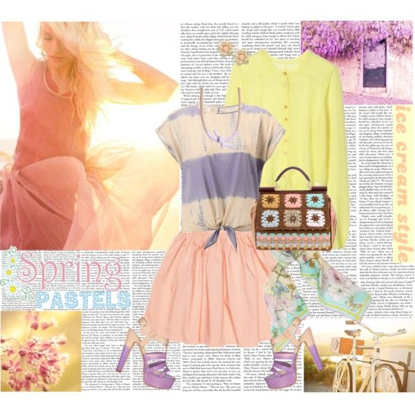 Blown into Spring, created by glivingthedream on Polyvore