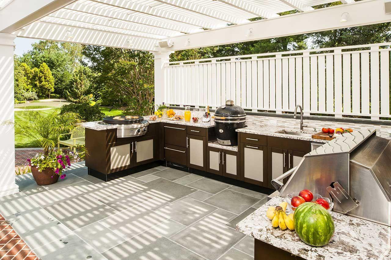 Best Outdoor Kitchen Ideas Brown Jordan Outdoor Kitchens 400 x 300