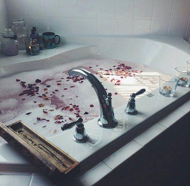 Bath Bathroom Cute Girl Girly Home House Room