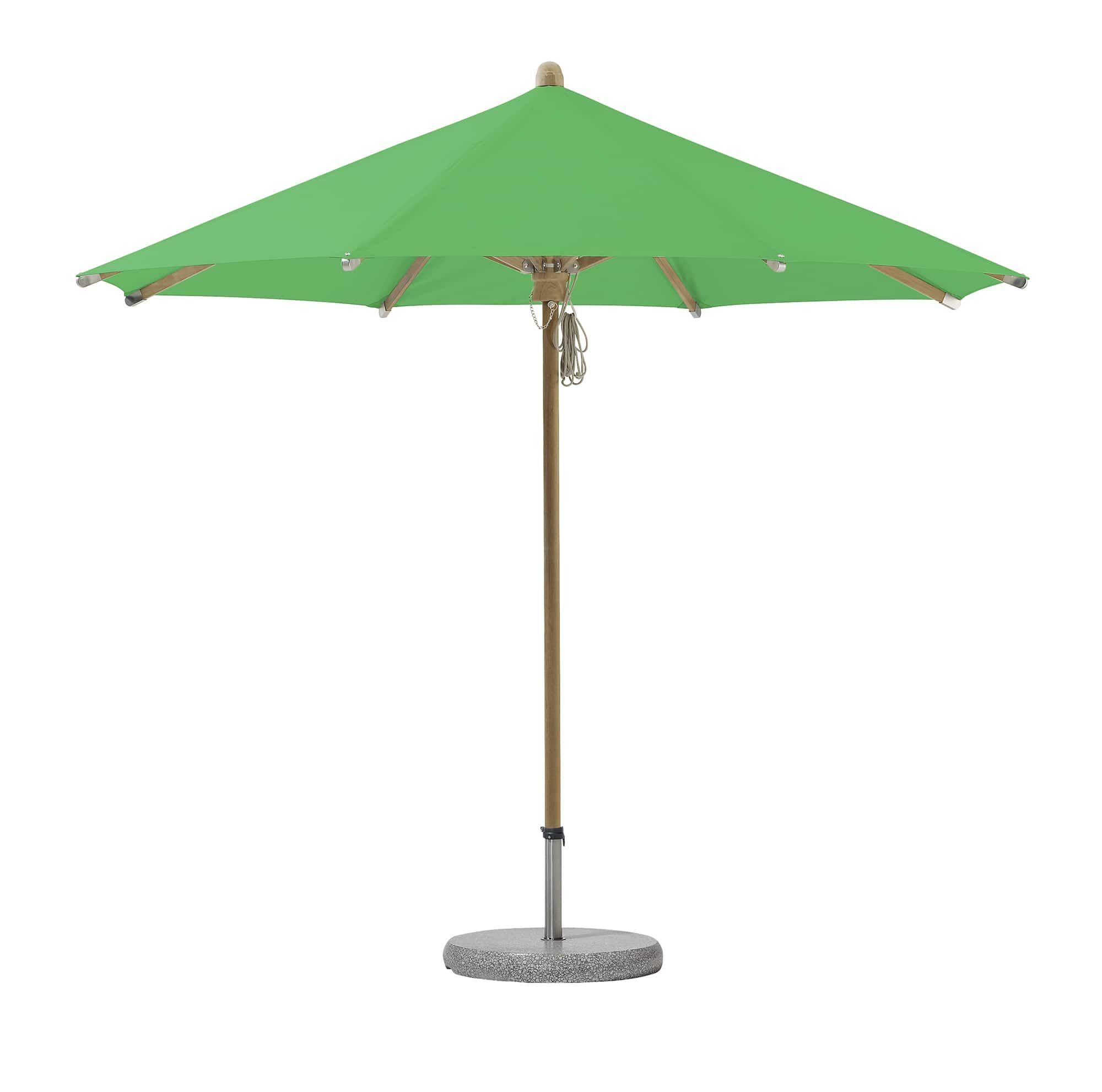 grüner sonnenschirm