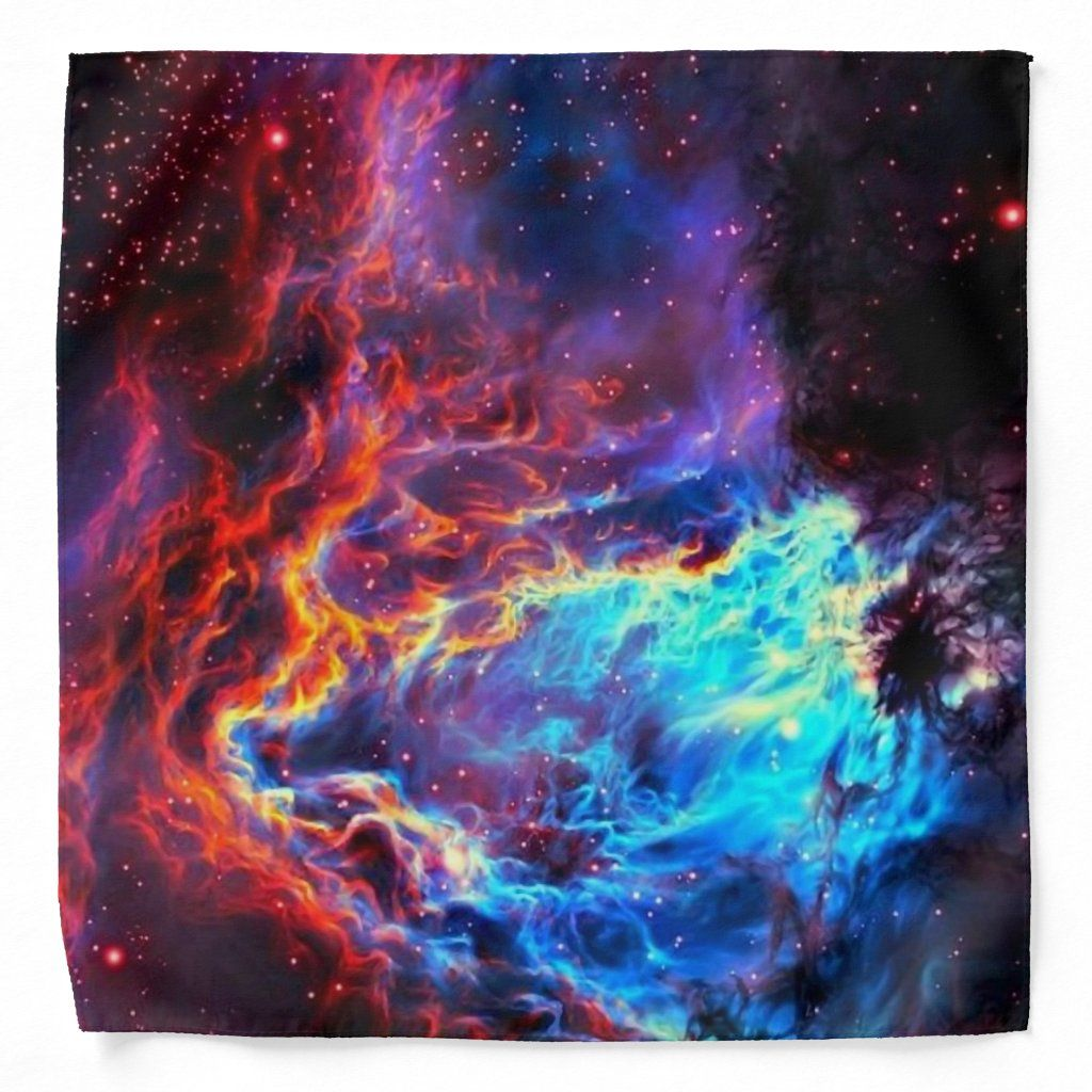 Stunning Color Composite Star Nebula Bandana