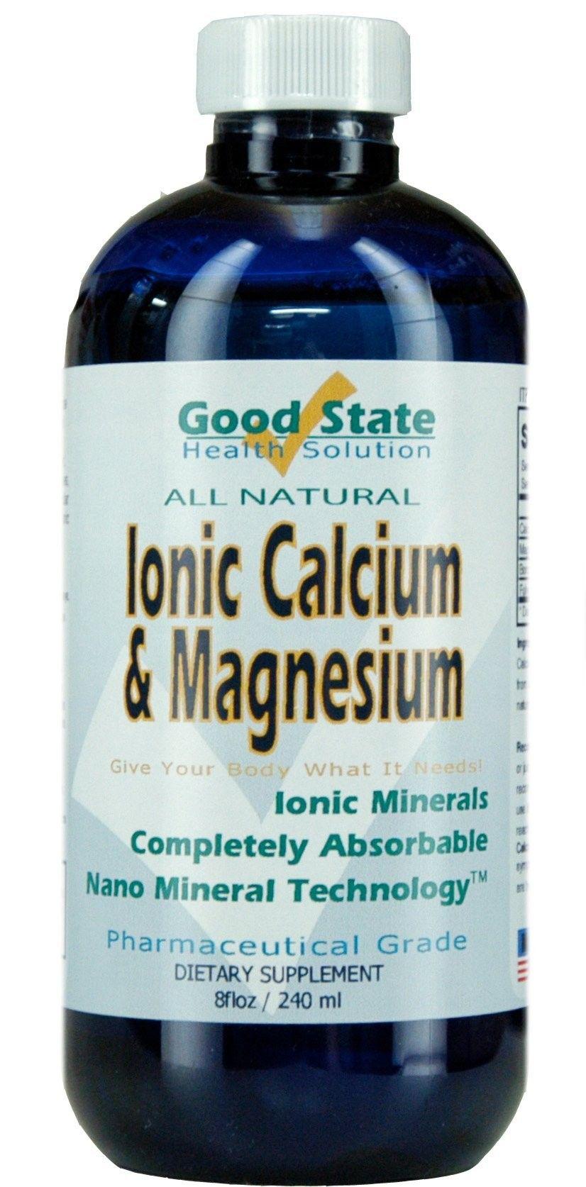 Liquid ionic minerals calcium and magnesium 48 days