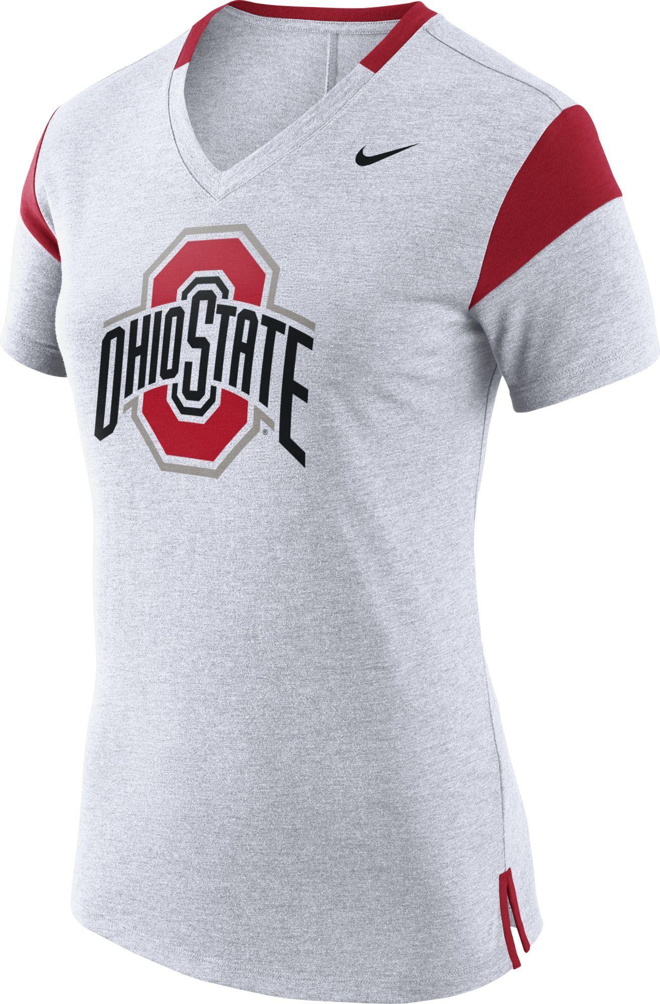Activewear Clothing, Shoes & Accessories Nike Shirt Mens Size Large Ohio State University Buckeye Nation Drifit