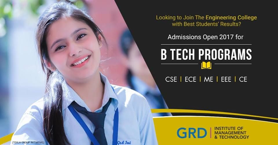 Give your career a solid start with GRD IMT's engineering