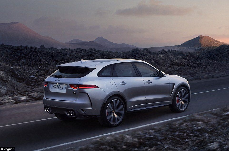 Jaguar S New F Pace Svr Is An Suv That Can Outsprint Most Sports Cars Jaguar Jaguar Car Jaguar Suv