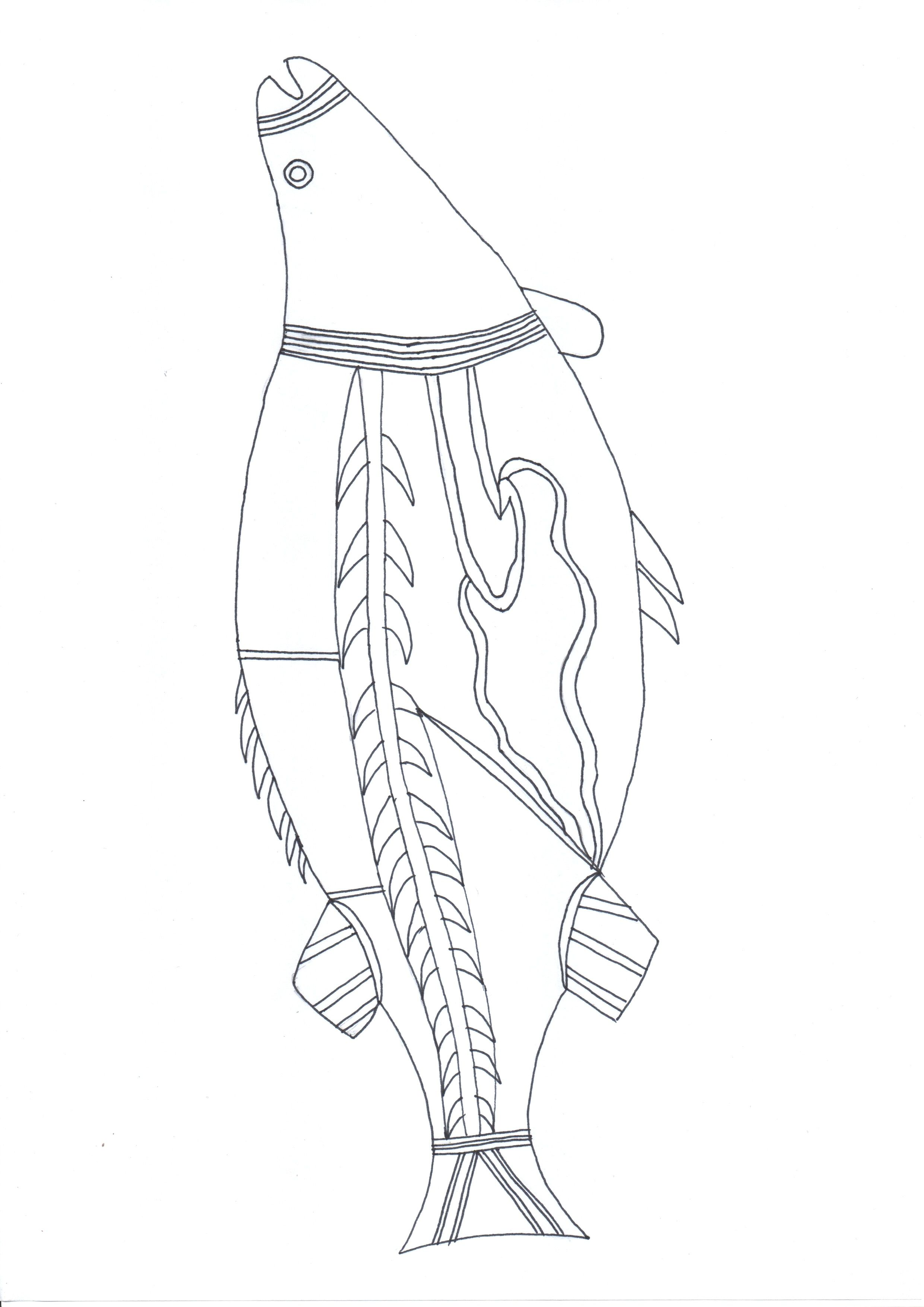 Striped Bark Scorpion coloring page | Free Printable Coloring Pages | 3508x2480