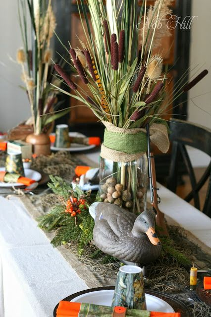 Thanksgiving Duck Dynasty Style Cattails And Duck Decoys