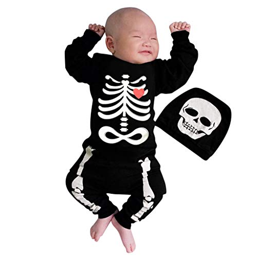 Halloween niños niñas niño babero de bebé recién nacido