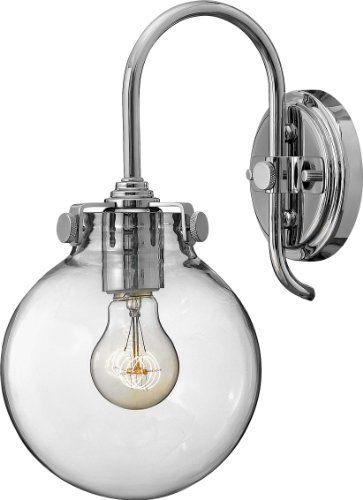 CLAWFOOT TUB BATHROOM - Hinkley Lighting 3174CM Congress ... on Height Of Bathroom Sconce Lights id=39644
