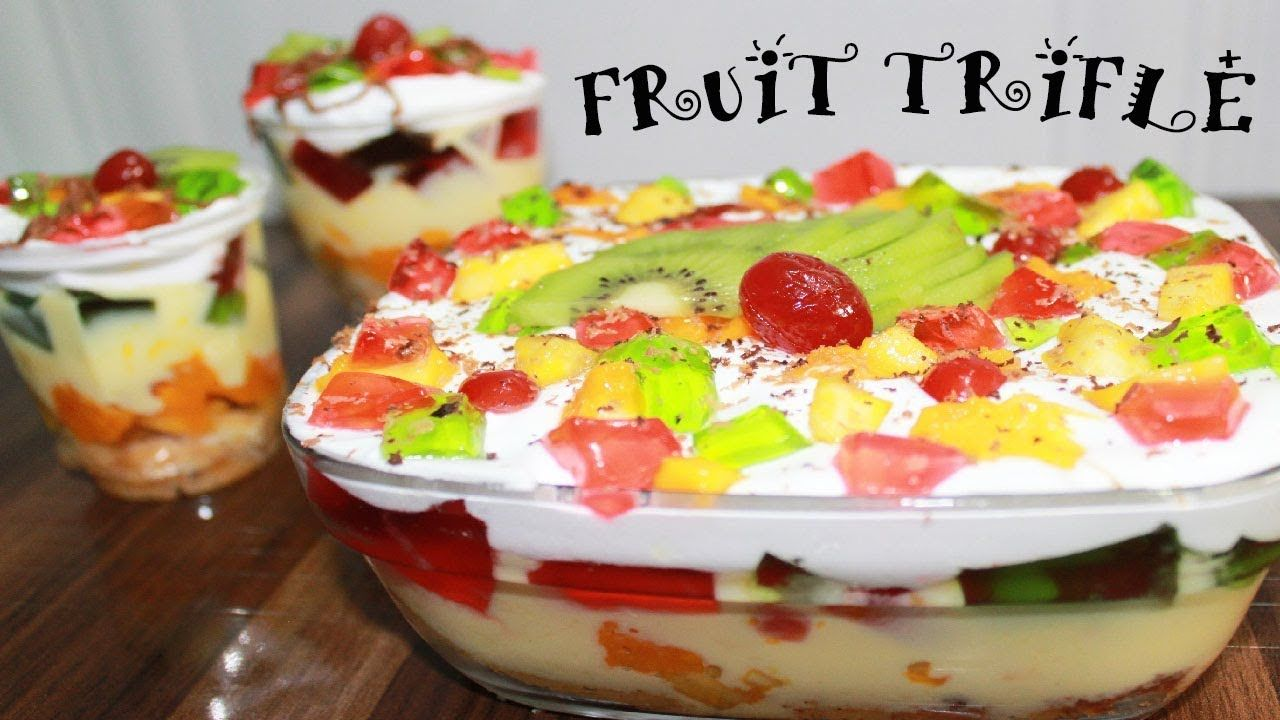Pin On Trifle Desserts