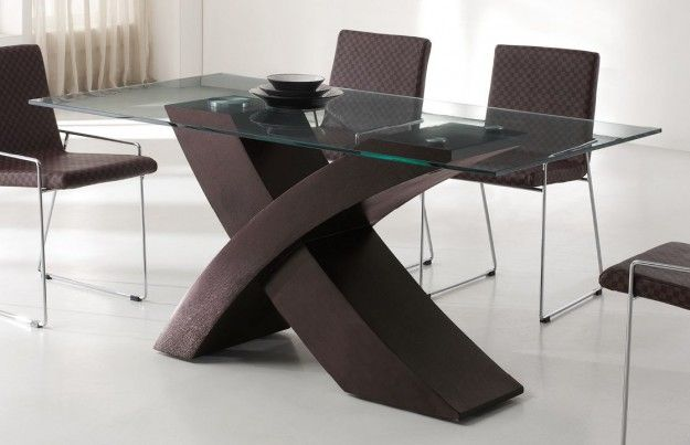 Inspiring Dining Table Furniture Design With Useful Black Wood