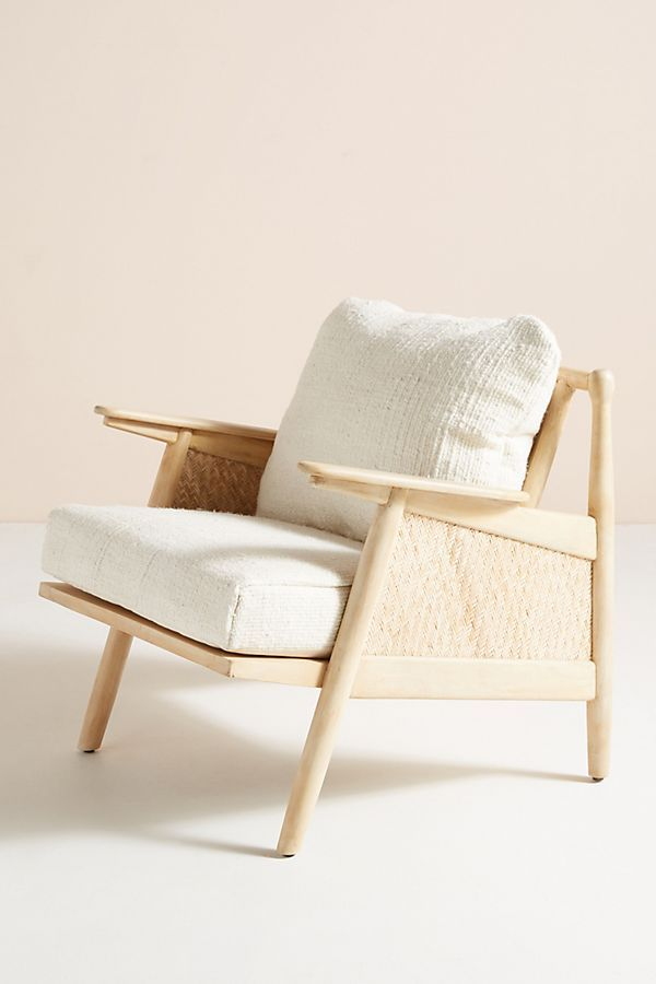 Linen Cane Chair Comfy Chairs Furniture Furniture Chair