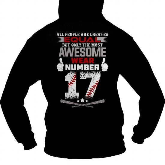 The most awesome baseball players wear 17