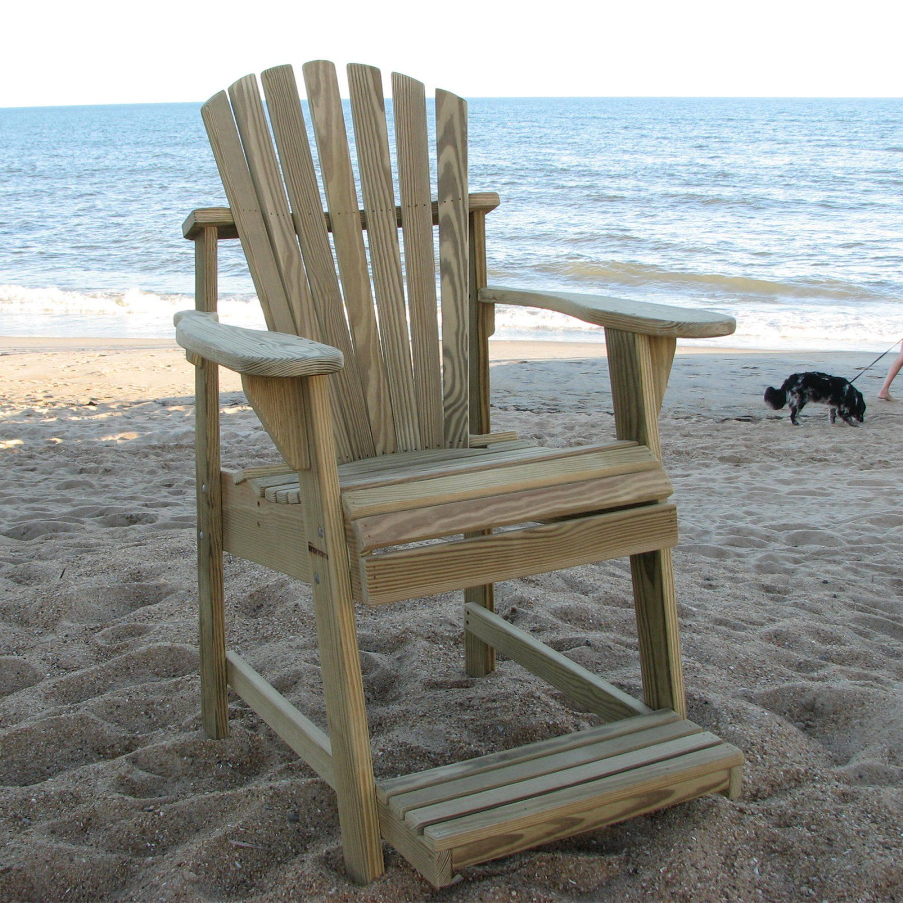 Weathercraft Designers Choice Treated Balcony Adirondack