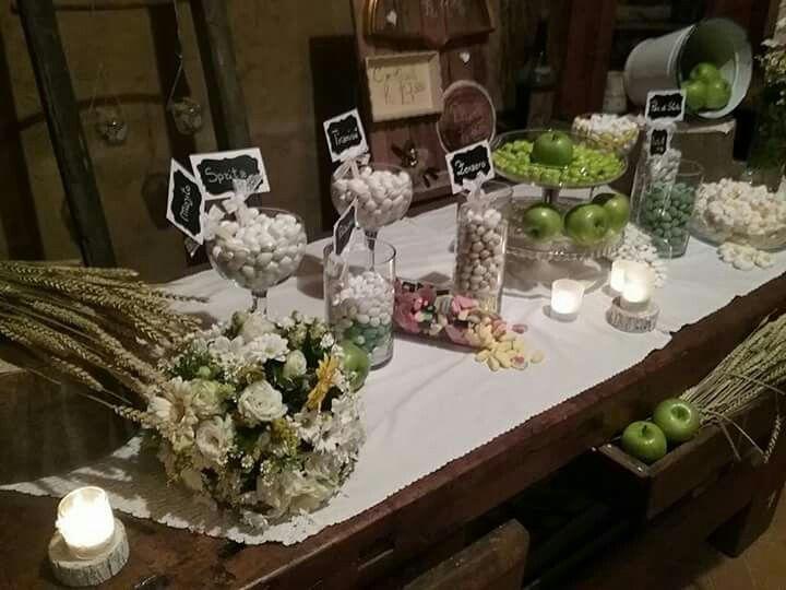 Wedding green apples #graceeventworld