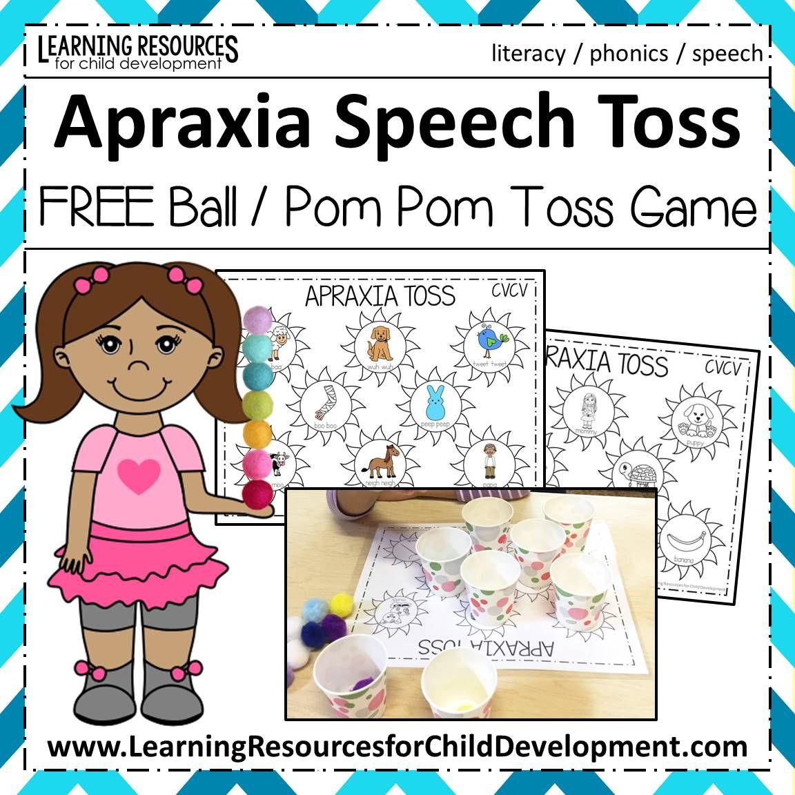 Apraxia Speech Toss