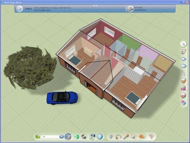 Programas para dise ar casas en 3d gratis construye for Programa para disenar en 3d en espanol gratis