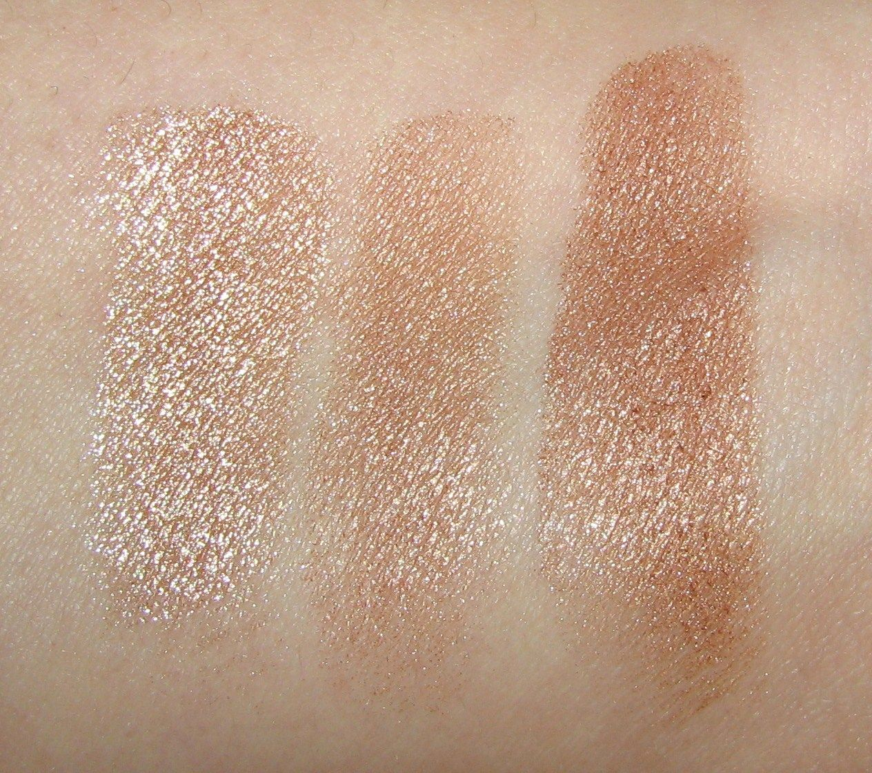 Lorac TANtalize Baked Bronzer swatches Makeup obsession