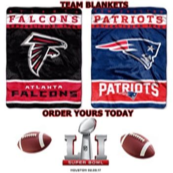 Nfl Team Blankets Superbowl 51 Falconsfanhq Atlcheerleaders Atlantafalcons Patriots Atlanta Falcons Memes New England Patriots Patriots