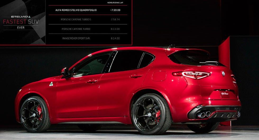 Alfa Romeo Stelvio Qv Promises To Be Faster Than A Cayenne Turbo S