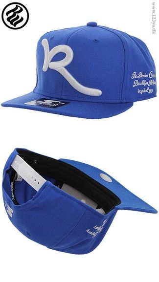 XTREME SHOP   www.123yo.dk ROCAWEAR Snapback cap CAP-RW-C001 BLUE ... 9790e3d6dca