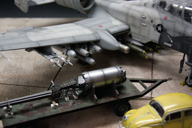 Trumpeter 1/32 A-10 N/AW Thunderbolt II   Large Scale Planes