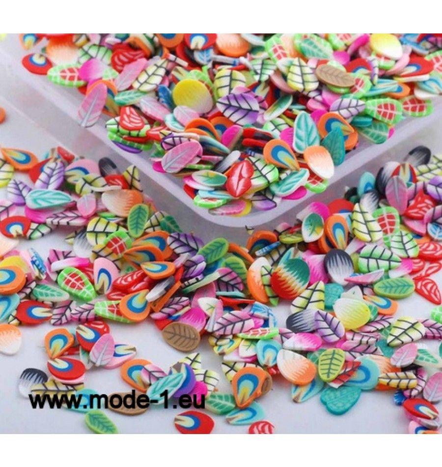 3D Nagel Kunst Plastik Scheibe Dekoration Blätter | Beauty ...