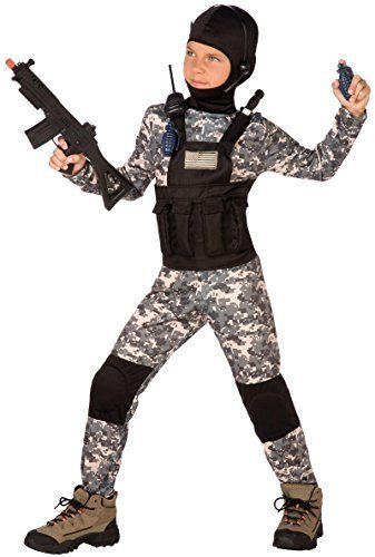 Navy Seal Child Halloween Costume (Large (12-14)) #1214 #  sc 1 st  Pinterest & Navy Seal Child Halloween Costume (Large (12-14)) #1214 #Child ...