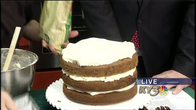 Pumpkin spice cake with maple frosting 12/16/13 | Local  - Home