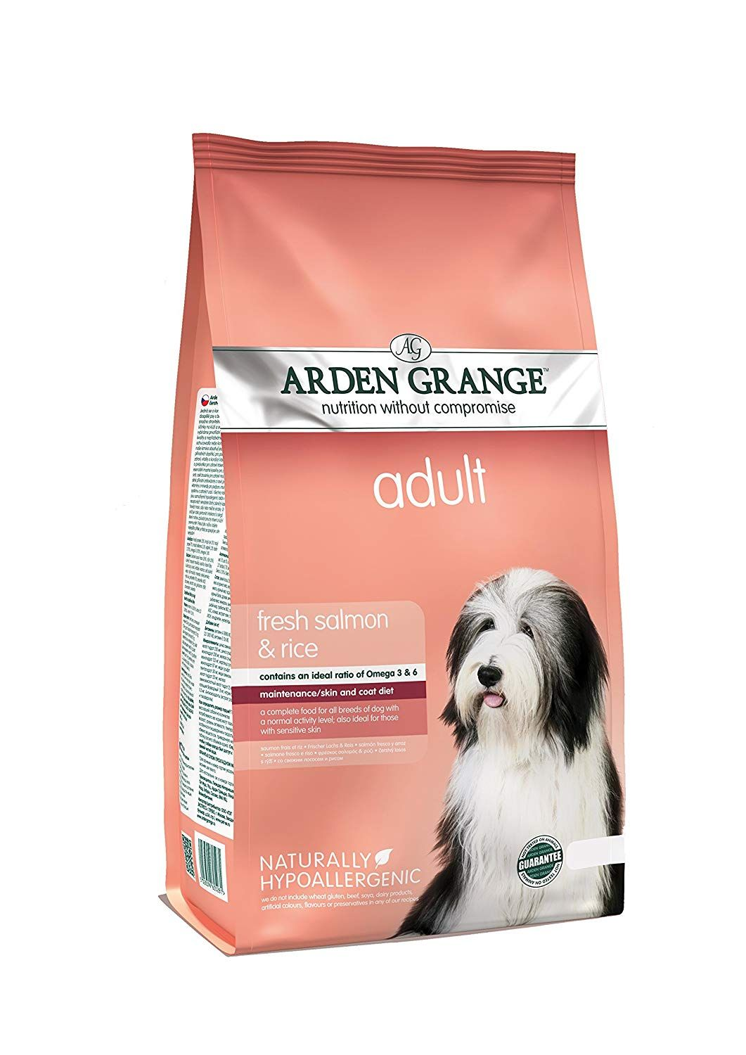 Elizabeth Arden Grange Adult Salmon And Rice Dog Food Want