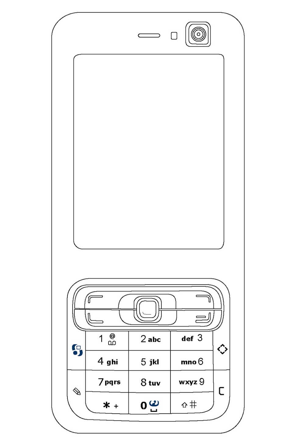 Candybar Cell Phone Coloring Page K5 Worksheets Phone Coloring Pages Coloring Pages Inspirational