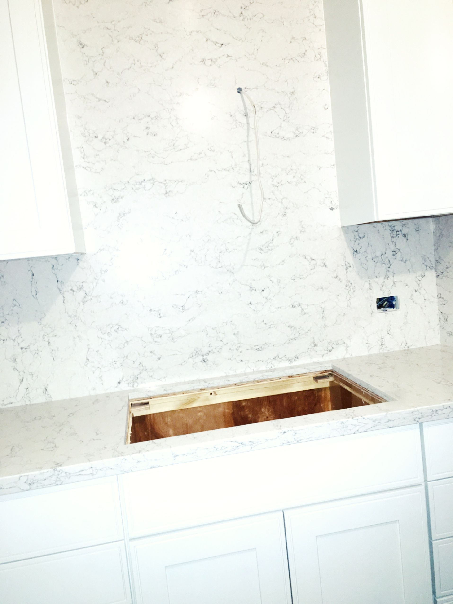 White Arabesque Silestone Quartz Countertops