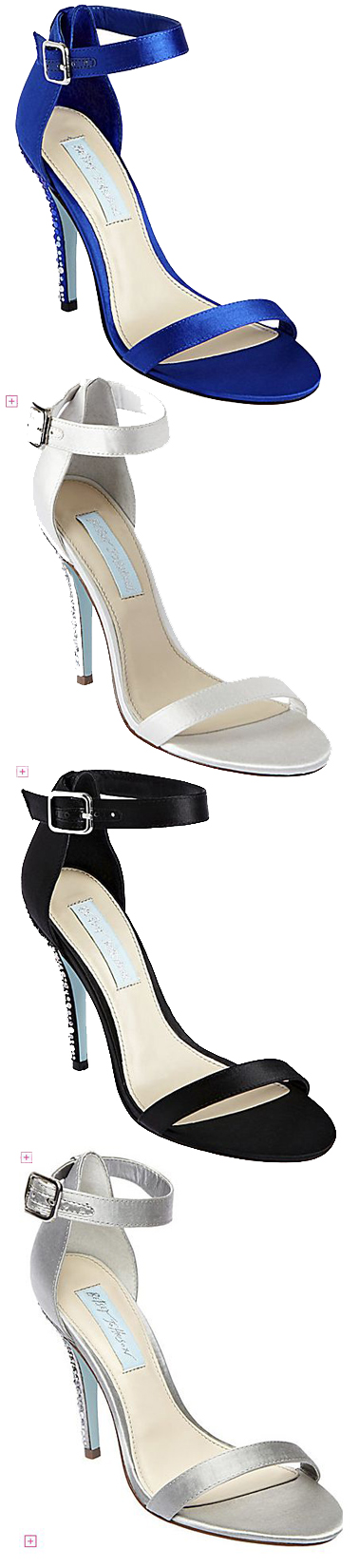 SB BELLS womens evening high ankle strap