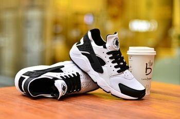 ded1ff310f0e 2018 的 Top Quality Nike Air Huarache Run Oreo White Black White ...