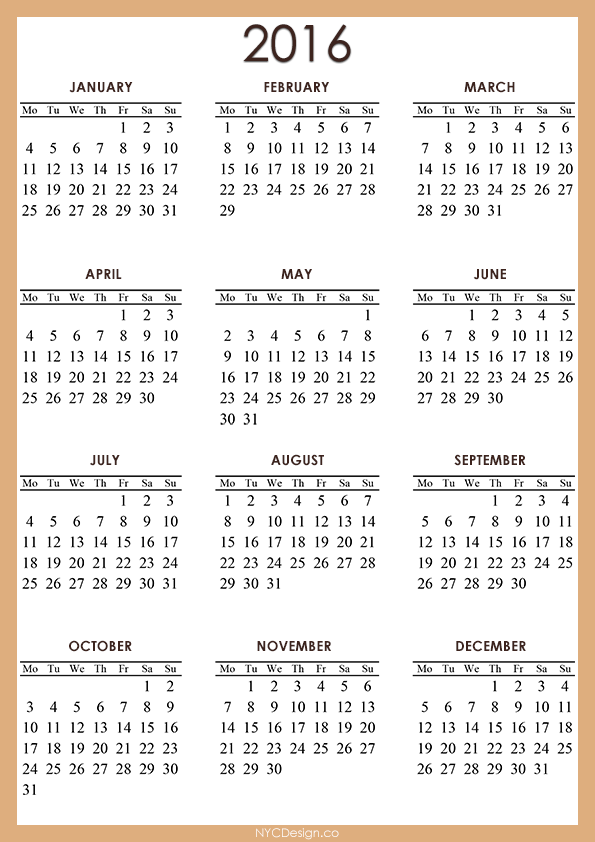 2016 Calendar Australia This Calendar Portal Provides You Free