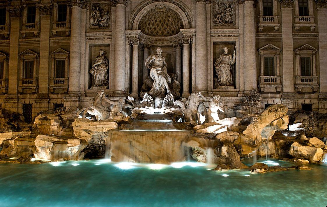 Esta semana santa toca tirar la moneda a la Fontana di Trevi, ¿dónde mejor pasar la Semana Santa que en Roma?  #roma #Semana #Santa #viaje #Fontana #diTrevi #Italia