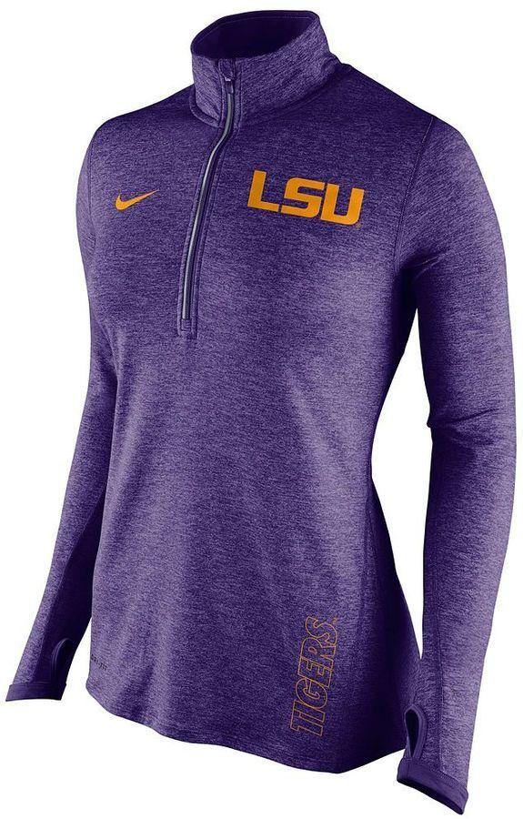 d61d28b39c55 Women s Nike LSU Tigers Dri-FIT Stadium Element Jacket