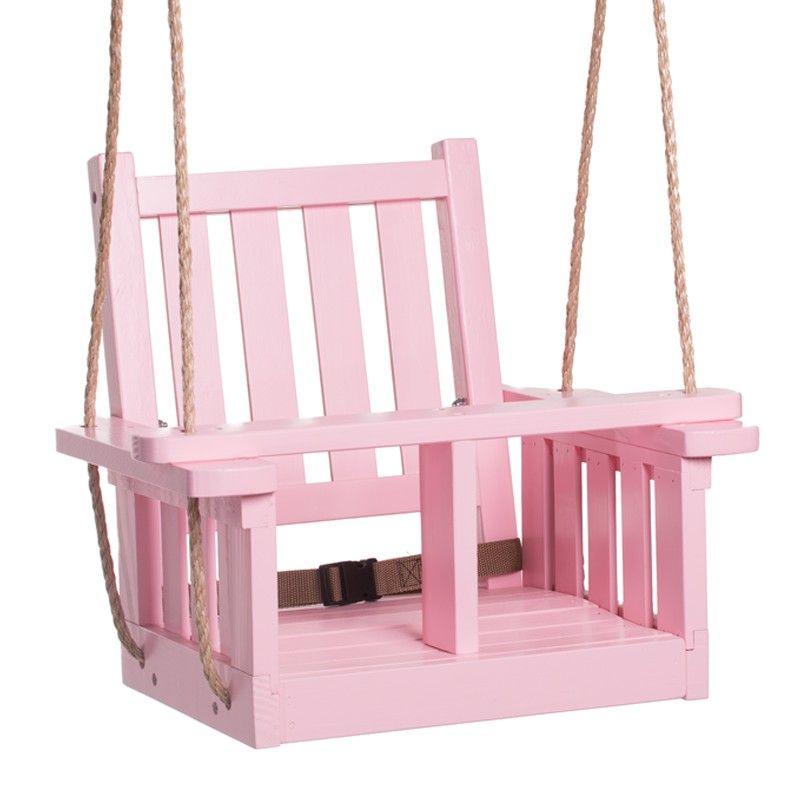 HP Swings Mission Baby Painted Outdoor Swing With Rope