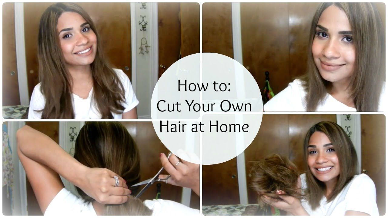 How to iCuti iYouri iOwni iHairi at Home a A Line Bob byBelle4u