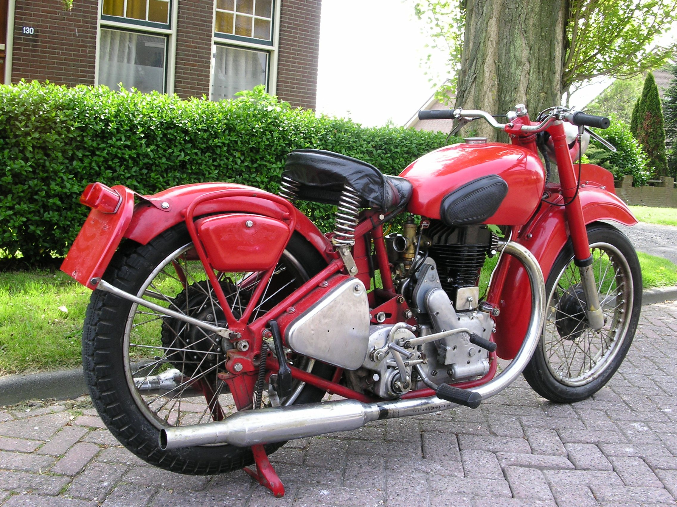 1948 Royal Enfield J2 500cc Single Cylinder Two Exhaust Ports