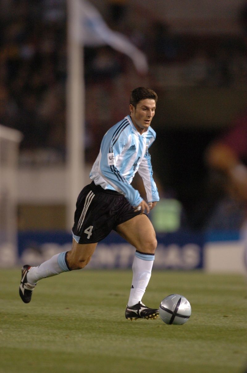 Javier Zanetti Argentina Cracks del Fºtbol Mundial