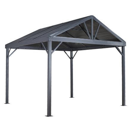 Sojag Sanibel I Gazebo 10 X 10 Ft Gazebos For Patios And Entertaining Walmart Com In 2020 Aluminum Gazebo Screened Gazebo Gazebo