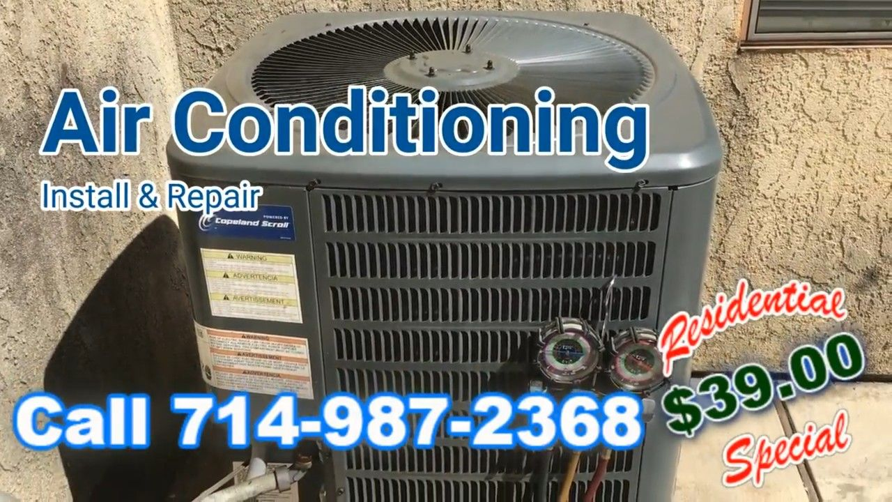 Air Conditioning Repair Serving Rowland Heights Ca