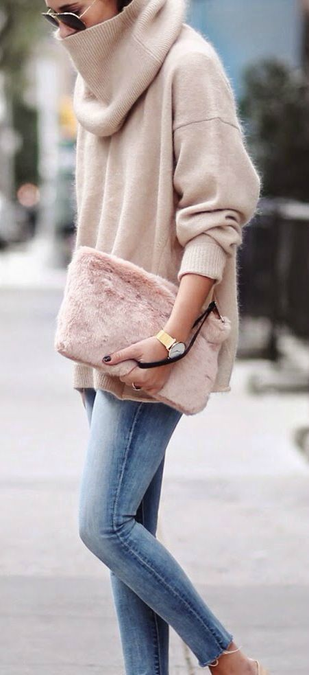9852658d60 Be a trendsetter this winter season by incorporating a warm and fuzzy  sweater into your wardrobe. A turtleneck sweater keeps you looking  fashion-forward ...