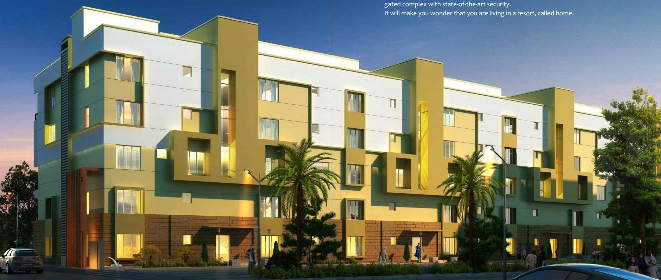 Uniworld Resorts 3BHK Apartments 4BHK Apartments sale in