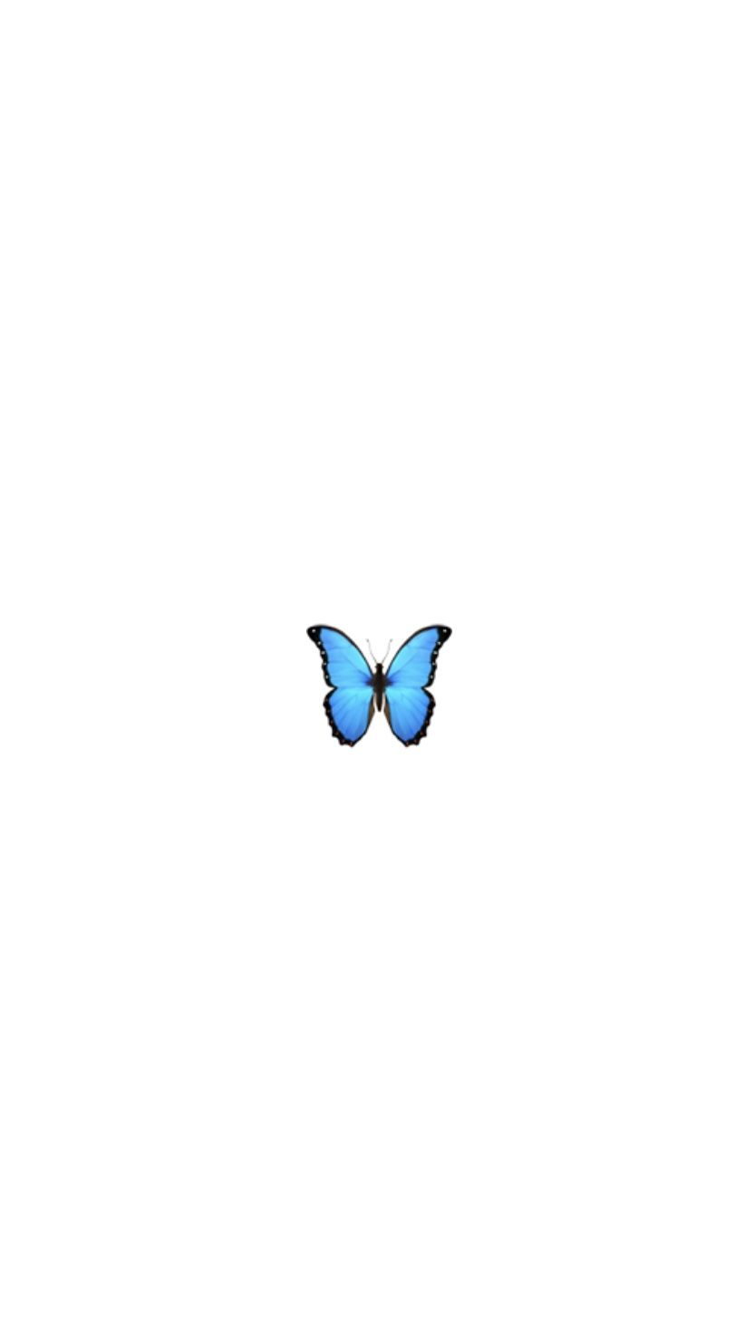 Fond Ecran Papillon Emoji
