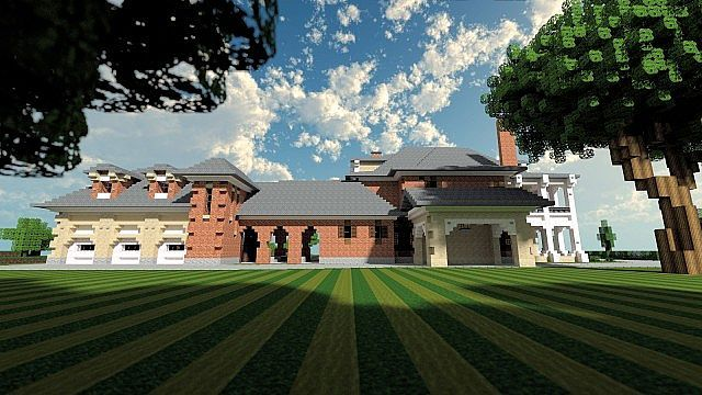 Plantation Mansion Minecraft Building History Ideas House 3