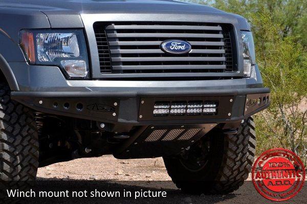 Addictive Desert Designs Venom Front Bumper With Winch Mount For