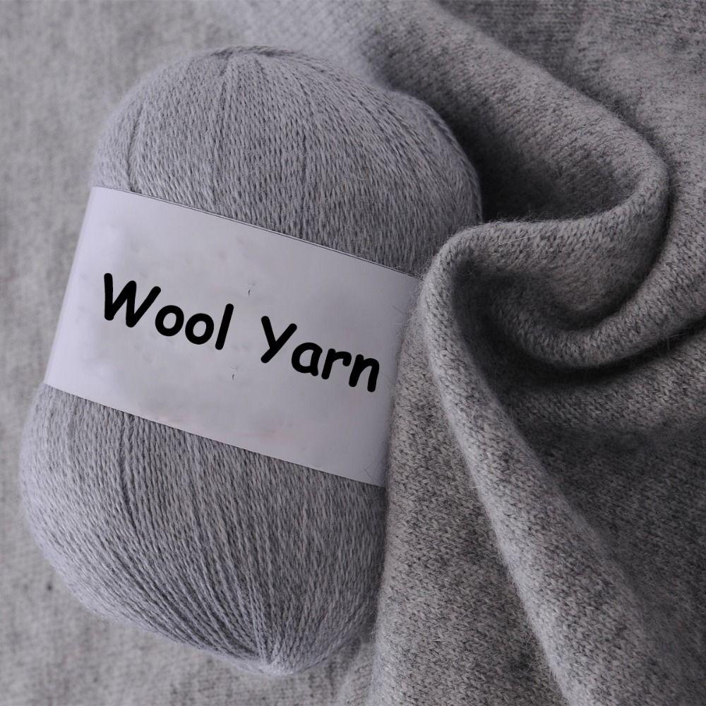 купить товар шерстяной пряжи для вязания свитер тонкая пряжа супер