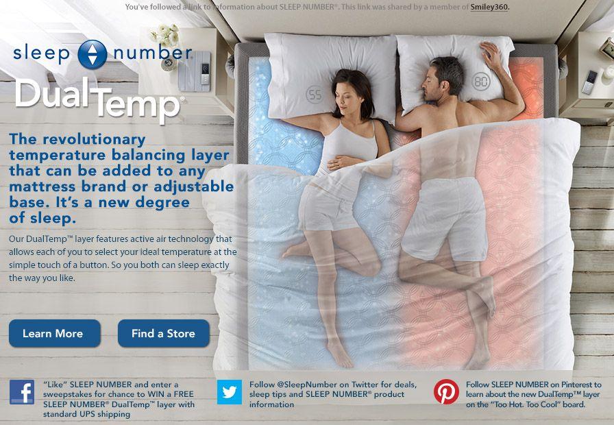 to Smiley360! Sleep number bed, Sleep, Layered